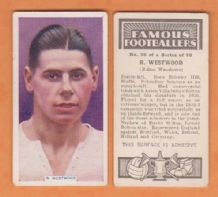 Bolton Wanderers Ray Westwood 26 (FF)